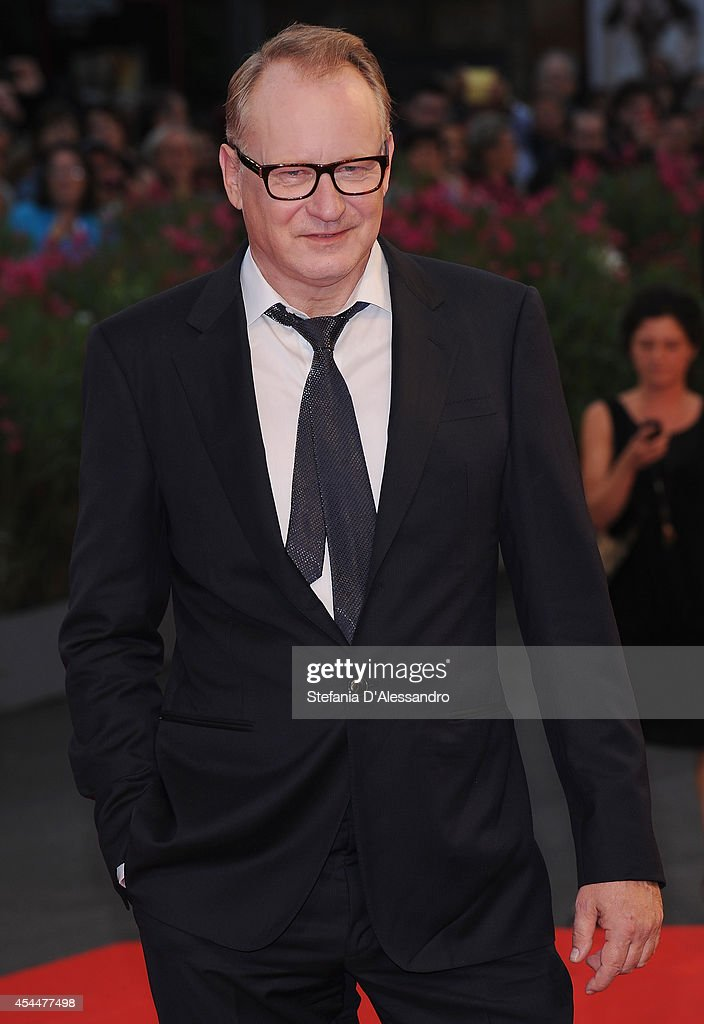 Stellan Skargard attends Nymphomaniac Premiere on September 1, 2014 in Venice, Italy.