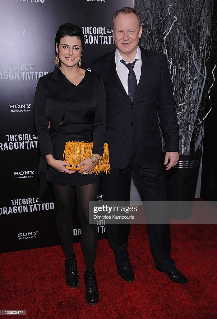 <a gi-track='captionPersonalityLinkClicked' href=/galleries/search?phrase=Stellan+Skarsgard&family=editorial&specificpeople=233516 ng-click='$event.stopPropagation()'>Stellan Skarsgard</a> and guest attend the 'The Girl With the Dragon Tattoo' New York premiere at Ziegfeld Theater on December 14, 2011 in New York City.