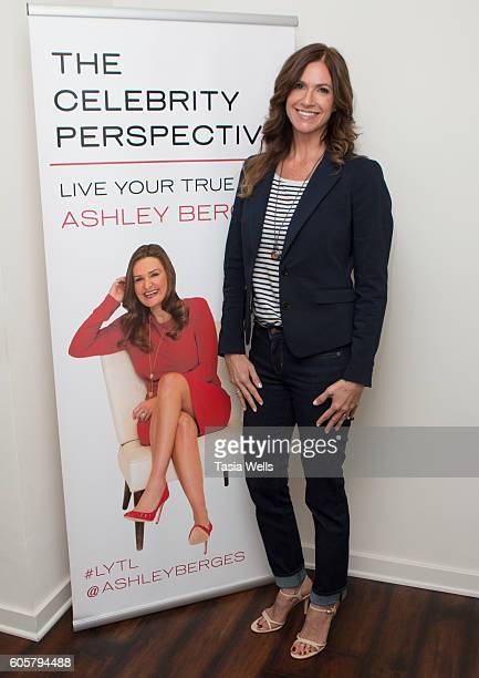 CEO Stellar Hitch Professional Matchmaking Personal Consulting Cristina Morara poses for portrait on the set of The Celebrity Perspective hosted by...