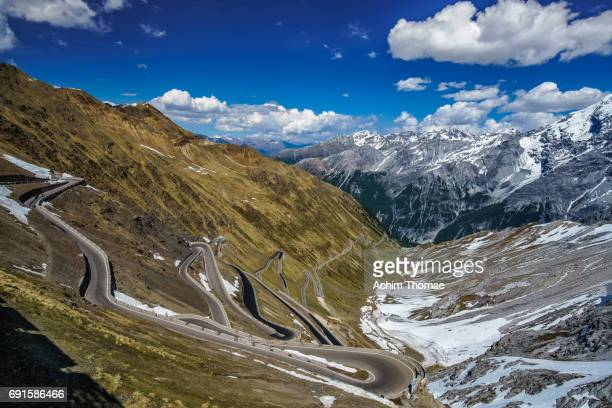 Stelvio Pass Road, South Tyrol, Italy, Europe