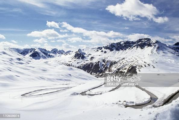 Stelvio Pass Stelvio National Park Lombardy Italy