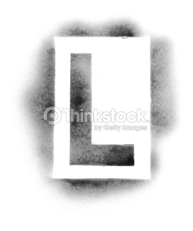 Stencil Letters In Spray Paint Stock Photo Thinkstock