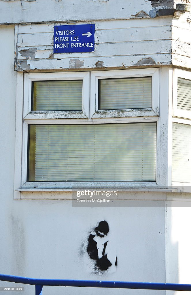 A stencilled graffiti artwork depicting a young boy can be seen on the exterior wall of the former Kincora Boys' Home on May 31, 2016 in Belfast, Northern Ireland. An inquiry into historical child sex abuse in Northern Ireland has begun examining allegations relating to the former Kincora Boys' Home on May 31, 2016. At least 29 boys were abused at the east Belfast home between the late 1950s and the early 1980s. Three senior care staff at Kincora were jailed in 1981 for abusing 11 boys. The Historical Institutional Abuse Inquiry (HIA) is expected to look at claims a paedophile ring at the home had links to the intelligence services.