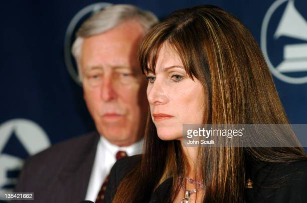 Steny Hoyer and Mary Bono during The Recording Academy Launches 'Recording Arts and Sciences Congressional Caucus' at Loews Vanderbilt Plaza Hotel in...