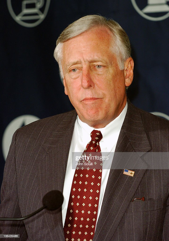 <a gi-track='captionPersonalityLinkClicked' href=/galleries/search?phrase=Steny+Hoyer&family=editorial&specificpeople=588093 ng-click='$event.stopPropagation()'>Steny Hoyer</a> (D-Md.) during The Recording Academy Launches 'Recording Arts and Sciences Congressional Caucus' at Loews Vanderbilt Plaza Hotel in Nashville, Tennessee, United States.