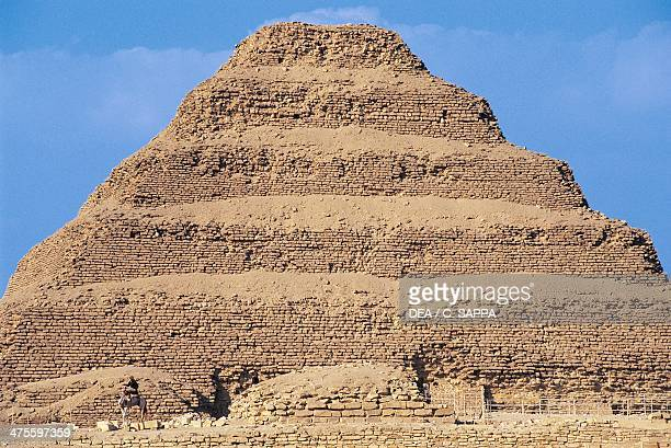 Step Pyramid of Djoser Saqqara Necropolis Memphis Egypt Egyptian civilisation Old Kingdom Dynasty III