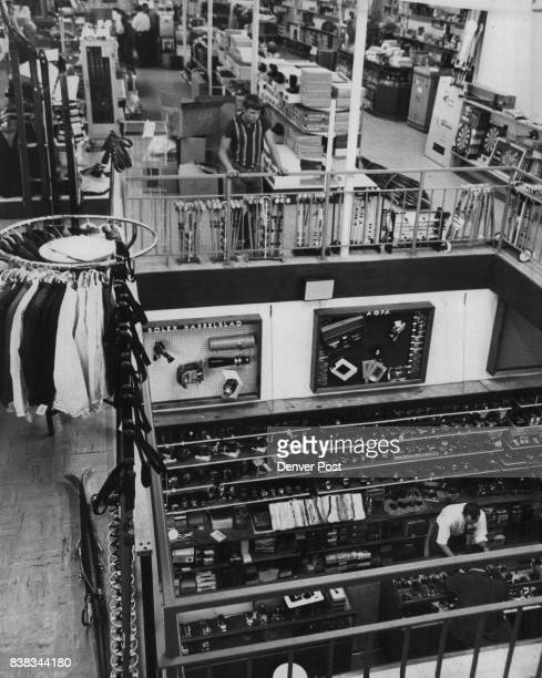 NOV 7 1964 NOV 12 1964 'Step Up to Values' at Gart Brothers Both the brand new upstairs and the remodeled downstairs of the Gart Brothers store may...