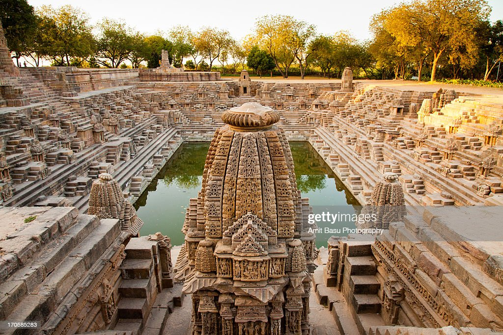 Step well. Sun Temple. Modhera, Gujarat.