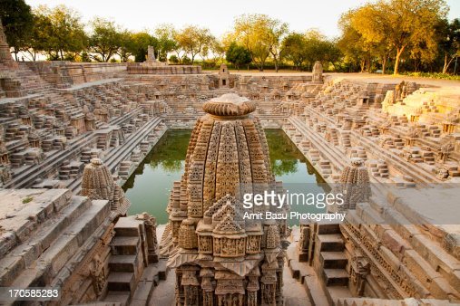 Step well. Sun Temple. Modhera, Gujarat.