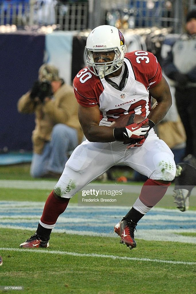 <a gi-track='captionPersonalityLinkClicked' href=/galleries/search?phrase=Stepfan+Taylor&family=editorial&specificpeople=6523004 ng-click='$event.stopPropagation()'>Stepfan Taylor</a> #30 of the Arizona Cardinals plays against the Tennessee Titans at LP Field on December 15, 2013 in Nashville, Tennessee.