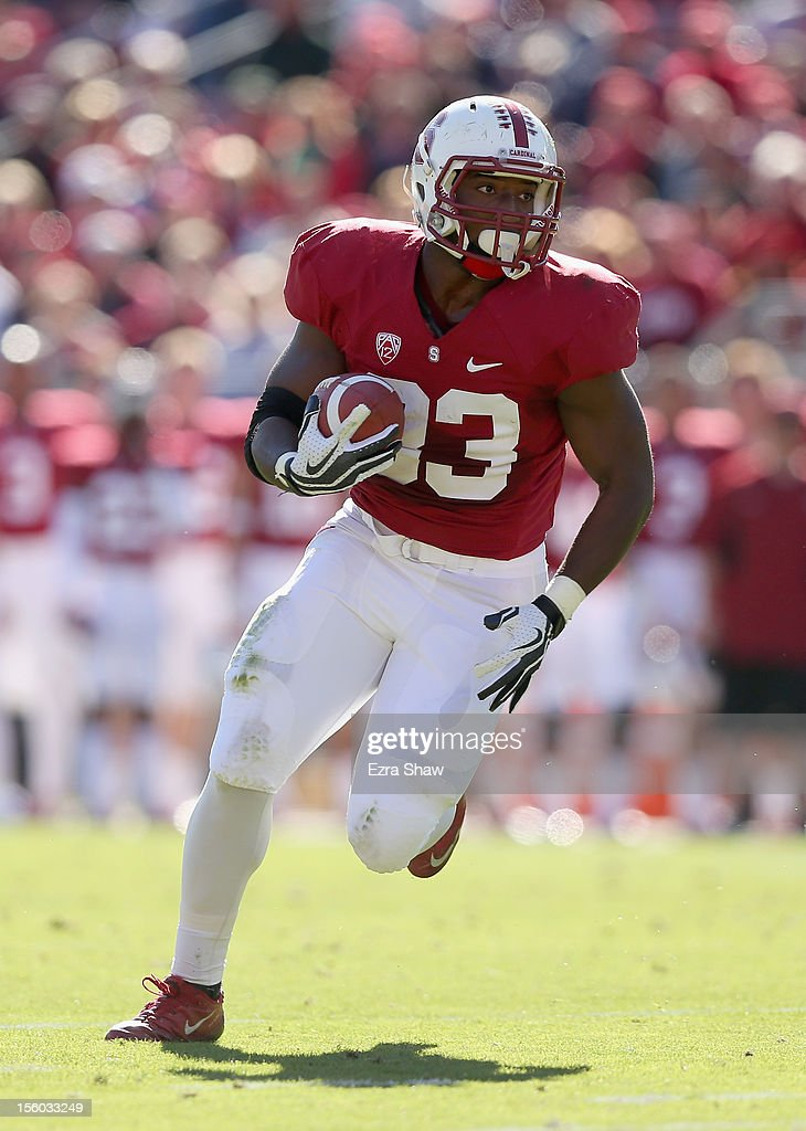 <a gi-track='captionPersonalityLinkClicked' href=/galleries/search?phrase=Stepfan+Taylor&family=editorial&specificpeople=6523004 ng-click='$event.stopPropagation()'>Stepfan Taylor</a> #33 of the Stanford Cardinal in action against the Oregon State Beavers at Stanford Stadium on November 10, 2012 in Stanford, California.