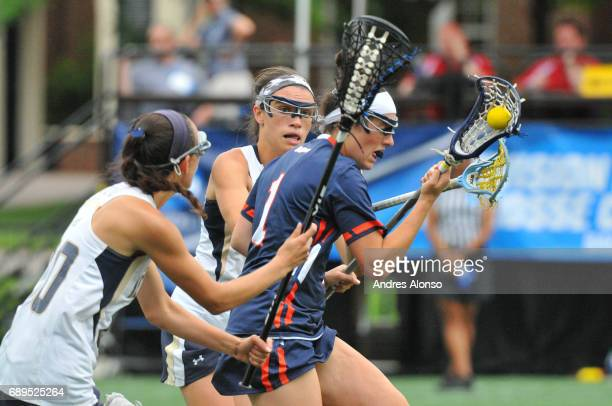 Steph Colson of Gettysburg College races down the field during the Division III Women's Lacrosse Championship held at Kerr Stadium on May 28 2017 in...
