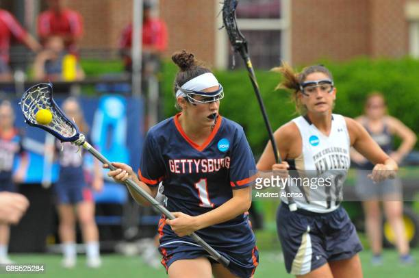Steph Colson of Gettysburg College was named Most Outstanding Player during the Division III Women's Lacrosse Championship held at Kerr Stadium on...