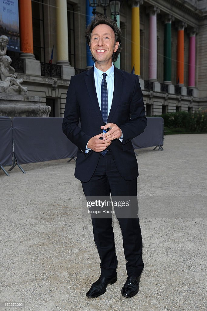 Stephan Bern arrives at 'The Glory Of Water' : Karl Lagerfeld's Exhibition Dinner at Fendi on July 3, 2013 in Paris, France.