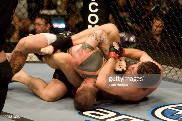 Stephan Bonnar def Mike Nickels Submission 214 round 1 during UFC 73 at Arco Arena on July 7 2007 in Sacramento California