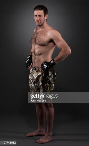 Stephan Bonnar poses for a portrait on January 28 2009 in Las Vegas Nevada