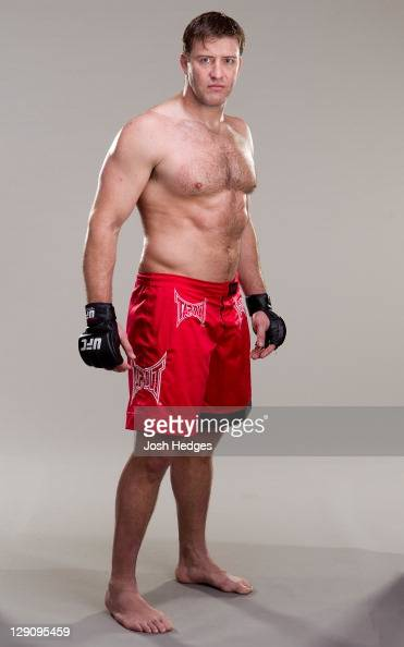 Stephan Bonnar poses for a portrait on May 9 2011 in Las Vegas Nevada