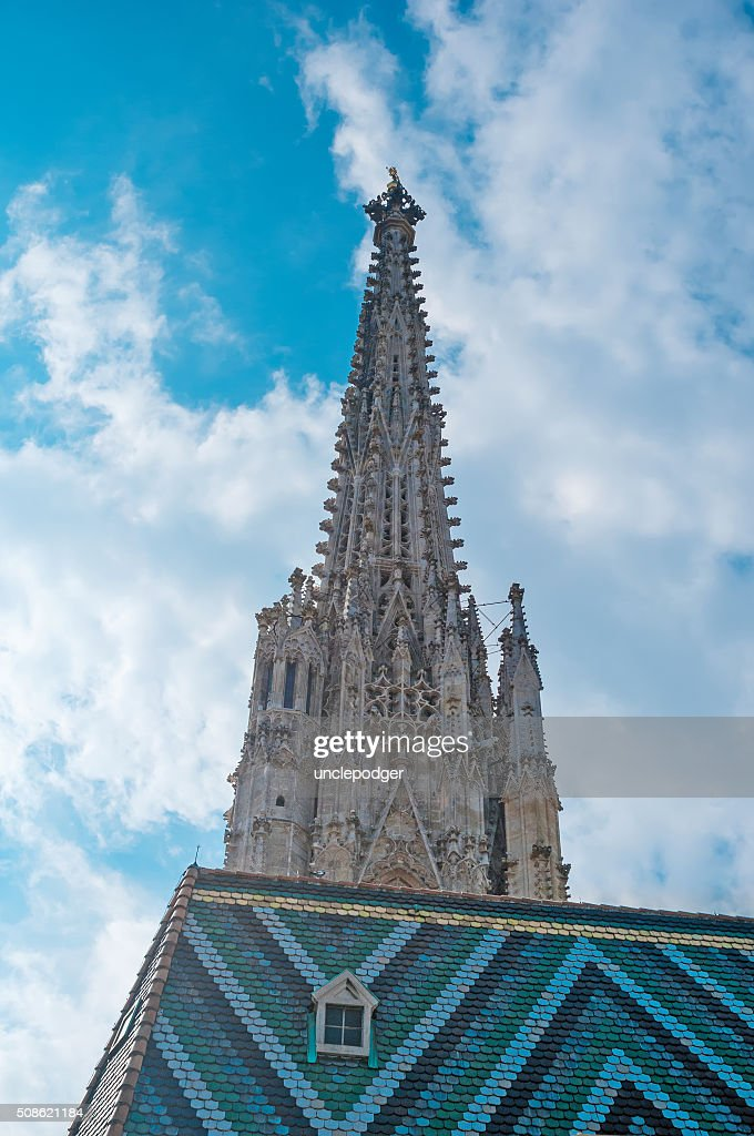 Stephan Cathedral in Vienna, Austria : Stock Photo