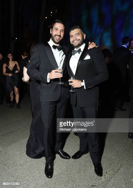 Stephan Dalal and Nima Ameri attend the 2017 Apollo Circle Benefit at The Metropolitan Museum of Art on October 19 2017 in New York City