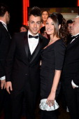 Stephan El Shaarawy and Ester Giordano attend the Fondazione Milan 10th Anniversary Gala on November 20 2013 in Milan Italy