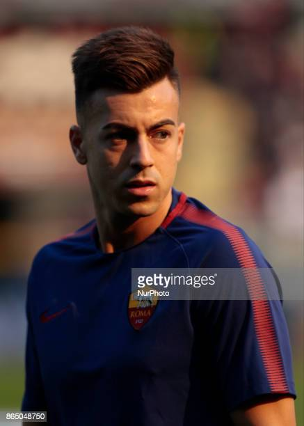 Stephan El Shaarawy during Serie A match between Torino v Roma in Turin on October 22 2017