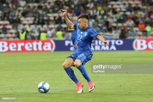 Stephan El Shaarawy during the international friendly between Italy and Uruguay at Allianz Riviera stadium on June 7 2017 in Nice France Italy won 30...