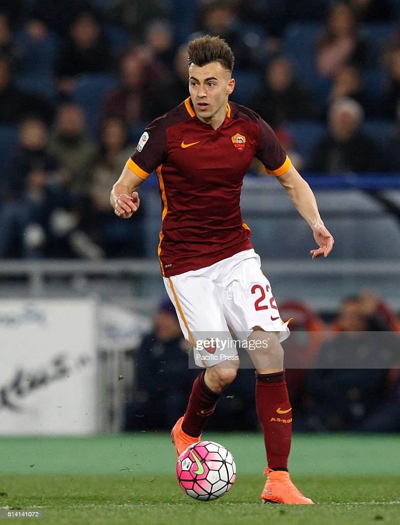Stephan El Shaarawy in action during the Italian Serie A