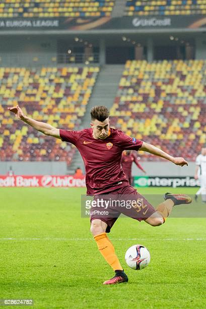 Stephan El Shaarawy of AS Roma during the UEFA Europa League 20162017 Group E game between FC Astra Giurgiu and AS Roma at National Arena Bucharest...