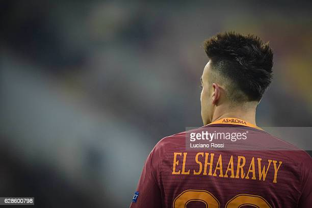 Stephan El Shaarawy of AS Roma during the UEFA Europa League match between FC Astra Giurgiu and AS Roma at on December 8 2016 in Bucharest