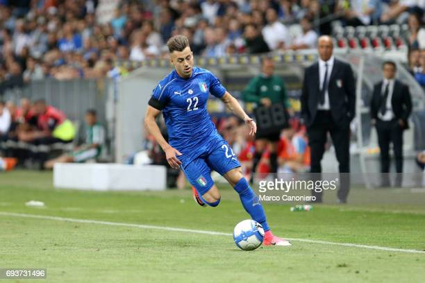 Stephan El Shaarawy of Italy in action during the international friendly match between Italy and Uruguay Italy wins 30 over Uruguay
