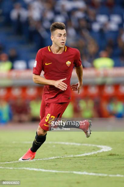 Stephan El Shaarawy of Roma during the Italian Serie A soccer match against Inter in Rome Inter defeating Roma 31