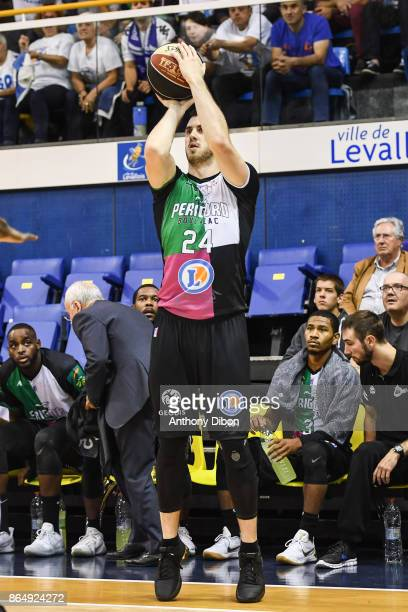Stephan Gauthier of Boulazac during the Pro A match between Levallois Metropolitans and Boulazac at Salle Marcel Cerdan on October 21 2017 in Paris...