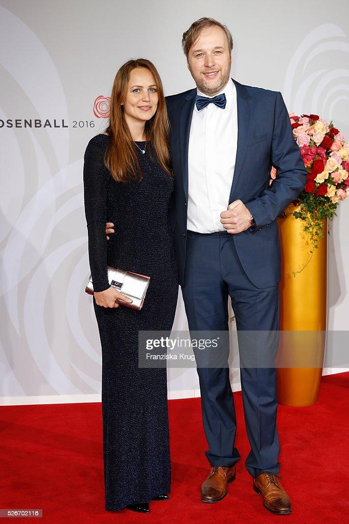 Stephan Grossmann and Lidija Grossmann attend the Rosenball 2016 on April 30 in Berlin, Germany.