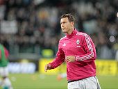 Stephan Lichtsteiner before the serie A match between Juventus FC and AC Milan at the juventus stadium on november 21 2015 in torino italy