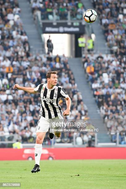 Stephan Lichtsteiner during the Serie A match between Juventus and SS Lazio on October 14 2017 in Turin Italy