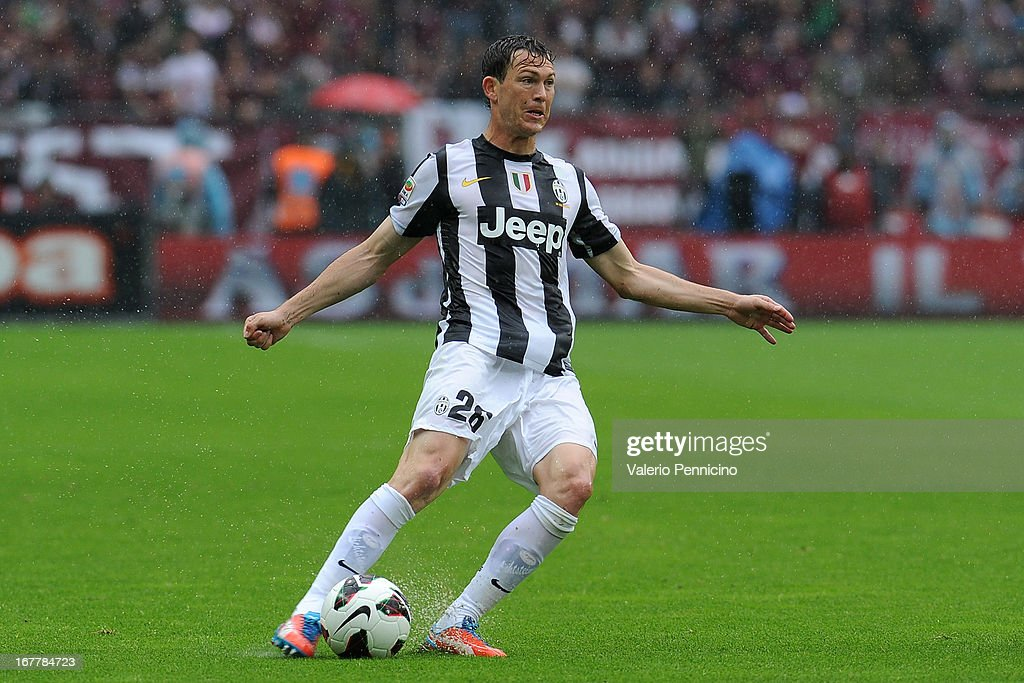 Stephan Lichtsteiner of Juventus in action during the Serie A match between Torino FC and Juventus at Stadio Olimpico di Torino on April 28, 2013 in Turin, Italy.