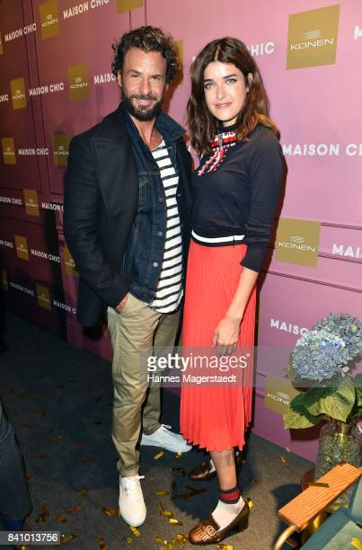 Stephan Luca and Marie Nasemann during the Maison Chic event at KONEN on August 30 2017 in Munich Germany