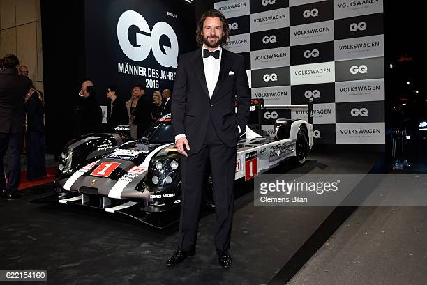 Stephan Luca arrives at the GQ Men of the year Award 2016 at Komische Oper on November 10 2016 in Berlin Germany