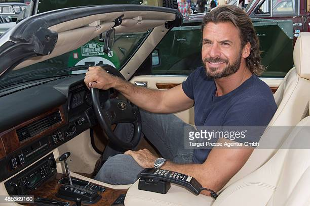 Stephan Luca attends the HamburgBerlin Klassik Ralleye 2015 at Olympiastadion on August 27 2015 in Berlin Germany