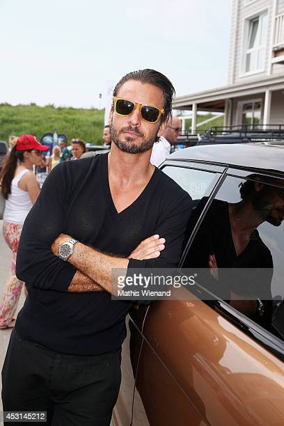 Stephan Luca attends the Land Rover Public Chill 2014 at Beach Motel on August 3 2014 in St PeterOrding Germany