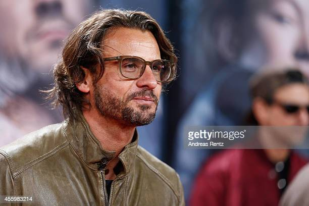 Stephan Luca attends the premiere of the film 'Who am I' at Zoo Palast on September 23 2014 in Berlin Germany