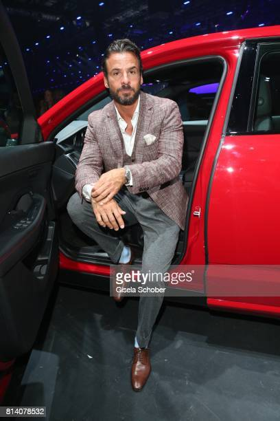 Stephan Luca during the Jaguar Land Rover global reveal and presentation of the premium compact SUV 'EPACE' car at ExCel on July 13 2017 in London...