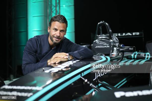 Stephan Luca during the Jaguar Land Rover presentation of the 'IPACE' car concept at Jaguar Land Rover brand boutique on June 6 2017 in Munich...