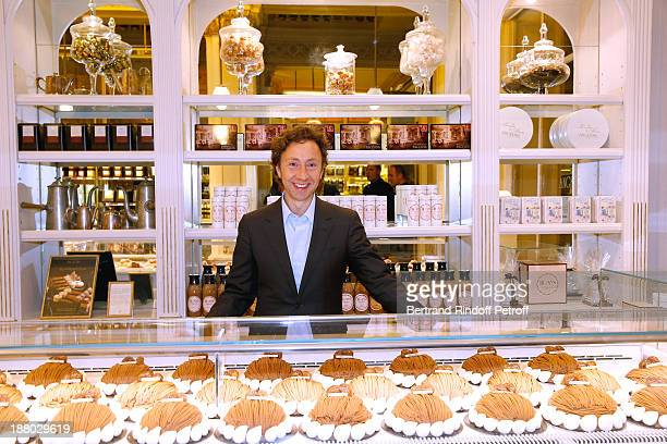 Stephane Bern attends his 50th Anniversary party called 'Half a century it's party' celebrated at Angelina on November 14 2013 in Paris France