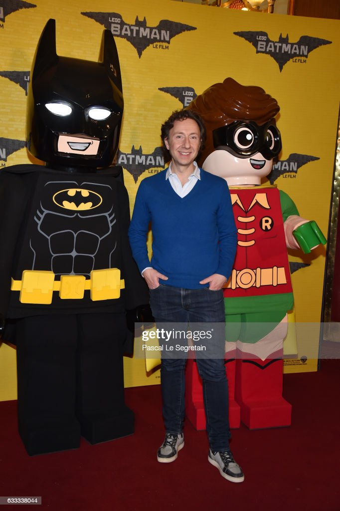 Stephane Bern attends 'Lego Batman' Premiere at Le Grand Rex on February 1, 2017 in Paris, France.