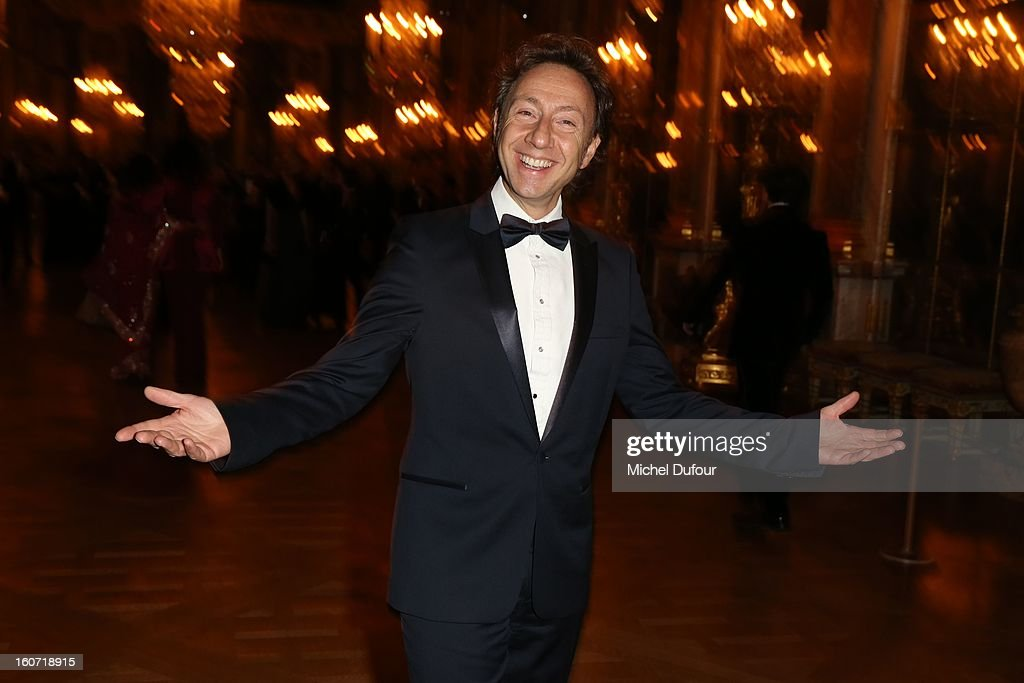 Stephane Bern attends the David Khayat Association 'AVEC' Gala Dinner at Chateau de Versailles on February 4, 2013 in Versailles, France.