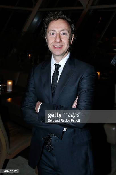 Stephane Bern attends the Private View of 'Icones de l'Art Moderne la Collection Chtchoukine' at Fondation Louis Vuitton on February 20 2017 in Paris...