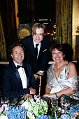 Stephane Bern Tenor Bernard Richter and Roselyne Bachelot attend the AROP Charity Gala with Opera 'L'enlevement au Serail' from Mozart at Opera...