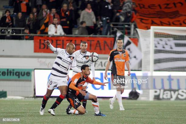 Stephane DALMAT / Francis COQUELIN Lorient / Rennes 15eme journee de Ligue 1
