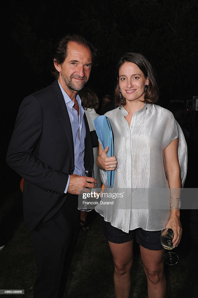 Stephane De Groodt and Marie Gillain attend the closing dinner hosted by IWC during the Festival du Film Francophone d'Angouleme on August 30, Angouleme, France.